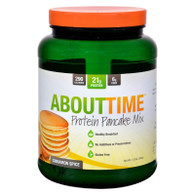 About Time Protein Pancake Mix - Cinnamon Spice - 1.5 lb