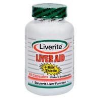 Liverite Liveraid - 60 Capsules