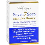 Seven 7 Bar Soap - Manuka Honey - Fragrance Free - 5.6 oz