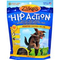Zuke's Hip Action Dog Treats - Chicken Formula - Case of 12 - 6 oz