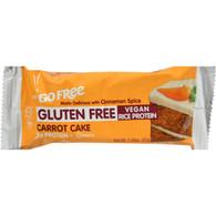 Nugo Nutrition Bar - Gluten Free Carrot Cake - Case of 12 - 45 Grams