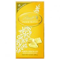 Lindt Chocolate Bites - Truffles - White Chocolate - 3.5 oz Bars - Case of 12