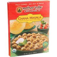 Mother India Organic Chana Masala - 10.6 oz - Case of 6