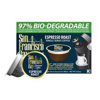 San Francisco Bay Coffee OneCup - Espresso - Case of 6 - 4.65 oz.