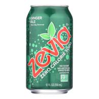 Zevia Soda - Zero Calorie - Ginger Ale - Can - 6/12 oz - case of 4