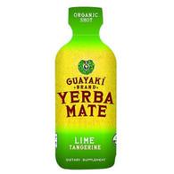 Guayaki Organic Yerba Mate Energy Shot - Lime Tangerine - 2 oz - Case of 12