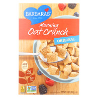 Barbara's Bakery Morning Oat Crunch Cereal - Original - Case of 12 - 14 oz.