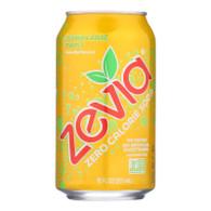 Zevia Soda - Zero Calorie - Lemon Lime Twist - Can - 6/12 oz - case of 4