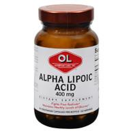 Olympian Labs Alpha Lipoic Acid - 400 mg - 60 Capsules