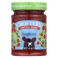 Crofters Fruit Spread - Organic - Just Fruit - Raspberry - 10 oz - case of 6