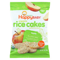 Happy Baby Happy Munchies Rice Cakes Apple - 1.41 oz - Case of 10