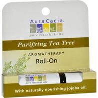 Aura Cacia Cleansing Stick Tea Tree - 0.29 fl oz - Case of 6