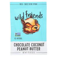 Wild FriendsAll Natural Peanut Butter - Chocolate Coconut - 1.15 oz - Case of 10