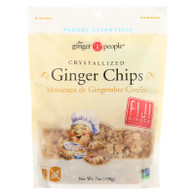 Ginger People Crystallized Ginger Chips - Bakers Cut - 7 oz - Case of 12