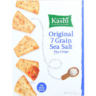 Kashi Pita Crisps - Original 7 Grain Sea Salt - 7.9 oz - case of 12