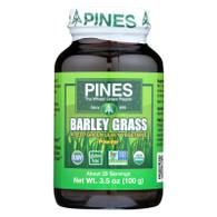 Pines International 100% Organic Barley Grass Powder - 3.5 oz