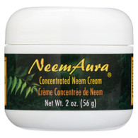 Neem Aura Neem Creme With Aloe and Neem Oil - 2 oz