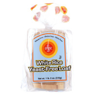 Ener-G Foods Loaf - White Rice - Yeast-Free - 19 oz - case of 6