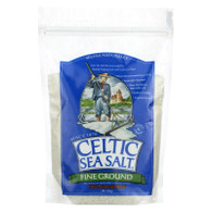 Celtic Sea Salt Fine Ground - Case of 6 - 1 Lb.