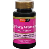 Sedona Labs iFlora Probiotics for Women - 60 Vegetarian Capsules