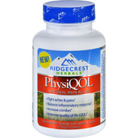RidgeCrest Herbals PhysiQOL Pain Relief - 60 Vegetarian Capsules