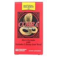 Natural Balance Cobra Sexual Energy - 60 Vegetarian Capsules