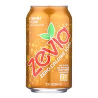 Zevia Soda - Zero Calorie - Cream Soda - Can - 6/12 oz - case of 4