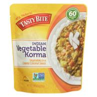 Tasty Bite Entree - Indian Cuisine - Vegetable Korma - 10 oz - case of 6