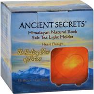 Ancient Secrets Himalayan Salt Tea Light Heart - Pack