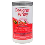 Designer Whey Protein Powder Strawberry - 2 lbs