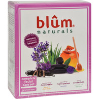 Blum Naturals Complete Facial Care Set - 3 piece Set
