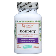 Quantum Elderberry Immune Defense Extract - 400 mg - 60 Capsules