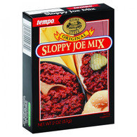 Tempo Sloppy Joe Mix - Original - 2 oz - Case of 12