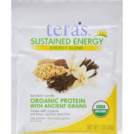 Tera's Whey - Sustained Energy Blend - Bourbon Vanilla - 12 oz