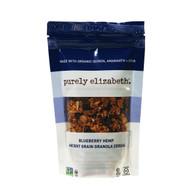 Purely Elizabeth Ancient Grain Granola Cereal - Blueberry Hemp - 2 oz - Case of 8
