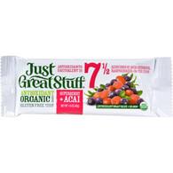 Betty Lou's Bar - Organic Superberry Acai - Case of 12 - 1.5 oz