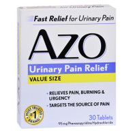 Azo Standard Urinary Pain Relief - 30 Tablets