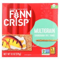 Finn Crisp Crispbread - Thin - Multigrain - 6.2 oz - case of 9