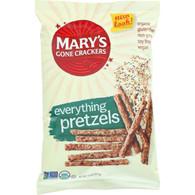 Marys Gone Crackers Pretzels - Organic - Everything - 7.5 oz - case of 12