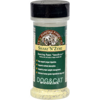 Dancing Paws Shake'N'Zyme For Cats and Dogs - 4.4 oz
