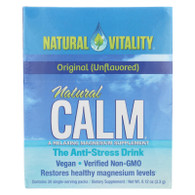 Natural Vitality Natural Magnesium Calm - 30 Packets