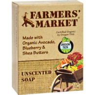 Farmer's Market Bar Soap Unscented - 5.5 oz