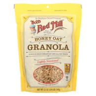 Bob's Red Mill Honey Oat Granola - 12 oz - Case of 4