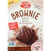 Enjoy Life Baking Mix - Brownie Mix - Gluten Free - 14.5 oz - case of 6