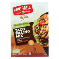 Fantastic World Foods Mix - Taco Filling - 3.7 oz - case of 6