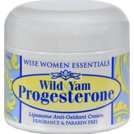 Wise Essential Wild Yam and Progesterone Cream - 2 oz