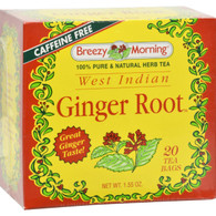 Breezy Morning West Indian Ginger Root - 20 Tea Bags