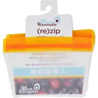 Blue Avocado Bag - Re-Zip - 1 Cup - Orange - 2 Pack