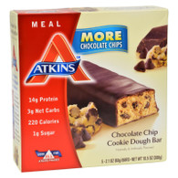 Atkins Advantage Bar Chocolate Chip Cookie Dough - 5 Bars
