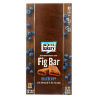 Nature's Bakery Stone Ground Whole Wheat Fig Bar - Blueberry - 2 oz - Case of 12